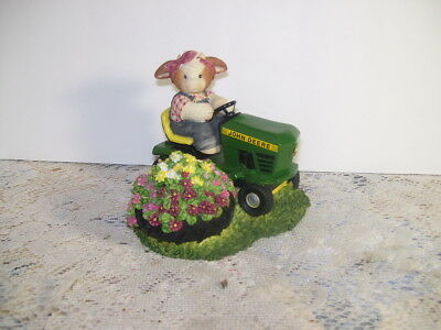 Mary Moo Moos Always Take A Mow-Ment To Sit And Smell The Flowers John Deere