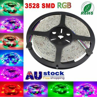 5M-50M 3528 SMD 300 LED Strip light White RGB  Car Home Christmas Decoration AU