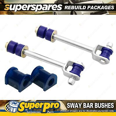 Rear SuperPro Sway Bar Rebuild Kit For Toyota Landcruiser 80 Series 90-97
