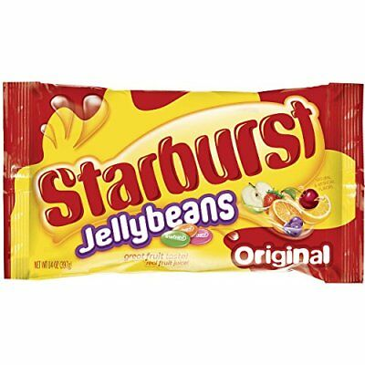STARBURST TROPICAL FRUIT Candy 14 Oz (Pack of 2) Jellybeans