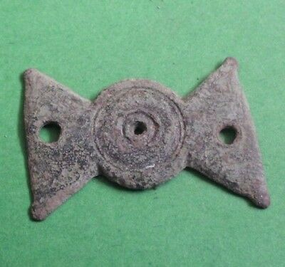 Ancient Roman Military Belt Bronze Solar Decoration - 200 Ad