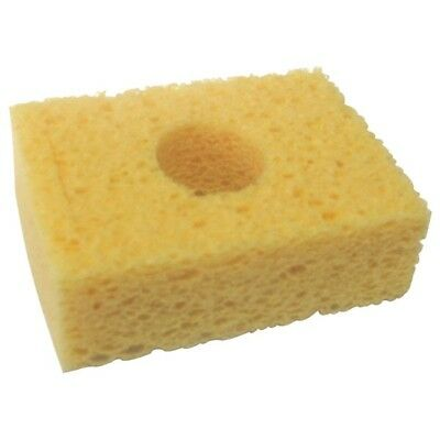 """Metcal AC-Y10 Square Sponge 3.2 x 2.1"""" Yellow For WS1 Workstand Pack Of 10"""