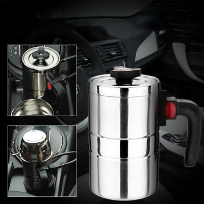 Car Heating Cup 12V 500ml Coffee Tea Maker Vehicle Thermos Hot Water Bottle Mug