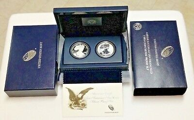 2012 American Eagle San Francisco 2-Coin Silver Proof Set (incl.Reverse Proof)