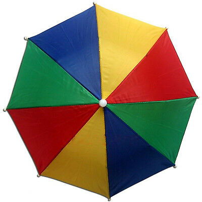 Large Golf Rainbow Umbrella Strong 16 Ribs Windproof Wooden Handle Wood 4 Colour