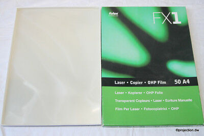 10 Ohp Sheets Overhead Projector Films Transparency Foil Lettering Polylux