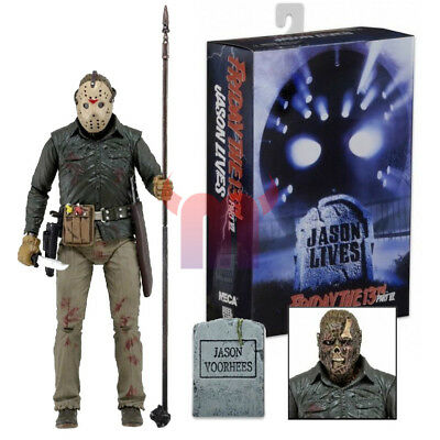 "NECA Friday the 13th Part 6 Jason Voorhees Ultimate 7"" Action Figure 1:12 NIB"