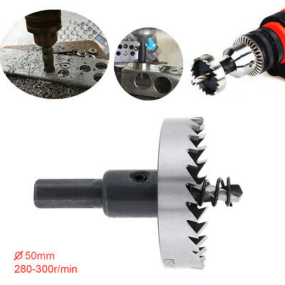 50mm Hole Saw Tooth Kit HSS Steel Drill Bit Set Cutter Tool for Metal Wood Alloy
