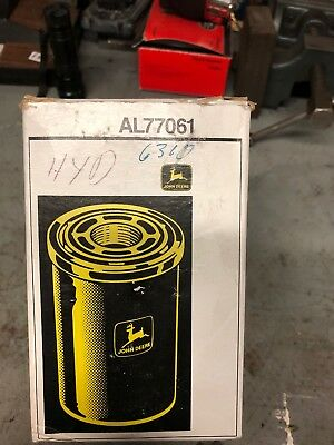 John Deere OEM part # AL77061 hydraulic oil filter transmission sub AL221066