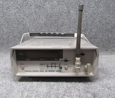 Vintage Racal-Dana Model 9919 80 MHz-1.1 GHz UHF Frequency Counter *Tested*
