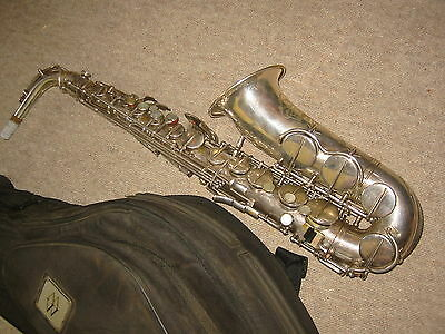 """Nice old German Alto saxophone """"Hohner President"""" (by Max Keilwerth )"""