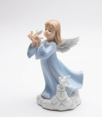 10009 - Cosmos Porcelain Mini Angel Figurine