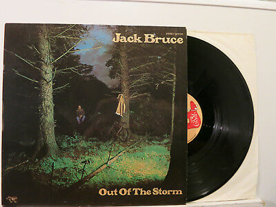 Jack Bruce (Cream) - Out of the Storm LP German Laminated Cover 1974 RSO NMint