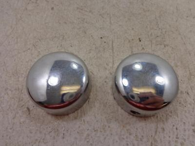 Chrome Axle Nut Covers for Harley # 43899-86A Dyna Softail Touring XL # 56528