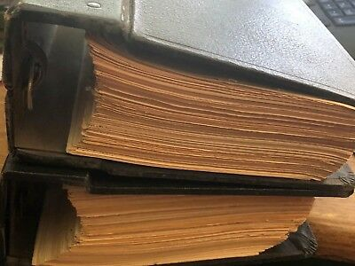 United States Border Patrol 2 Binders Nationality Laws, Immigration Act 1951 ++