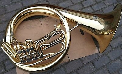 5/4 B/Bb Helikon Tuba Cerveny spielbereit HELICON in excellent condition