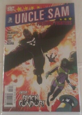 Uncle Sam and the Freedom Fighters Vol 1 #3 VF/NM Jimmy Palmiotti Justin Gray