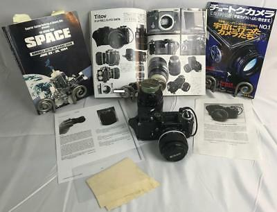 FLOWN LOT 35mm Nikon Camera w/58mm &135mm Lens, Suede Cloth from Cosmonaut Titov