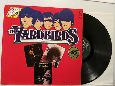 The Yardbirds - The Pop Collection Series LP 1972 Byg Germany Near Mint