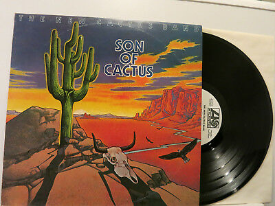 The New Cactus Band (Bogert&Appice) - Son of Cactus LP 1973 ATL D + WL-Promo NM