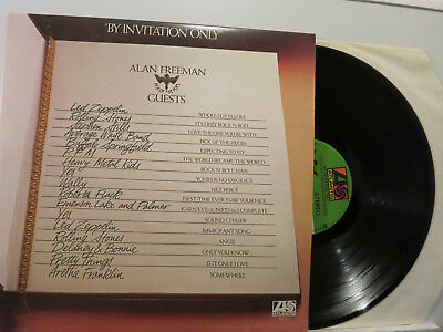 By Invitation only - V.A. -Led Zeppelin/Delanry&Bonnie/Yes etc 2 LP FOC 1976 NM