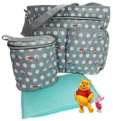 Trade Mark Collections TRADE MARK WINNIE THE POOH CHANGING BAG SET Baby - BN