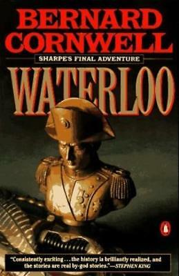 Penguin Pub Historical Novel Waterloo - Sharpe's Final Adventure Campaign SC VG