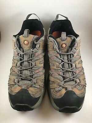 934d876a70 Merrell Continuum Vibram Mens Sz 11.5 Pantheon Dusty Olive Hiking Trail Shoe