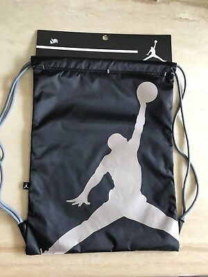 59c5deb02239e1 Nike Jordan Gym Sack Backpack Bag Basketball Tennis Sports Soccer Training  Shoes