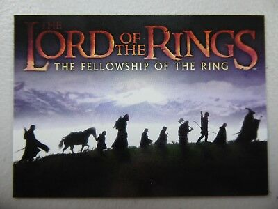 TOPPS Card : LOTR The Fellowship Of The Ring  #90 CHECKLIST
