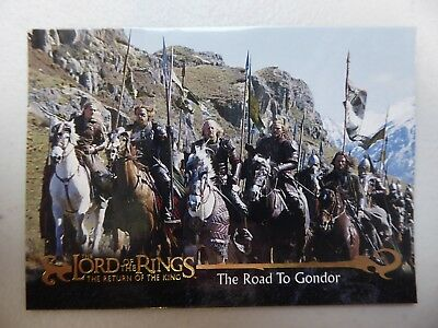 TOPPS Card : LOTR The Return Of The King  #37 THE ROAD TO GONDOR