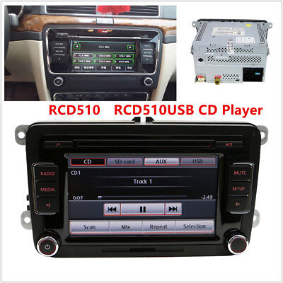 RCD510 USB OE# 5ND035190A Auto Radio 6 Disc CD MP3 Player Fits for Passat Tiguan