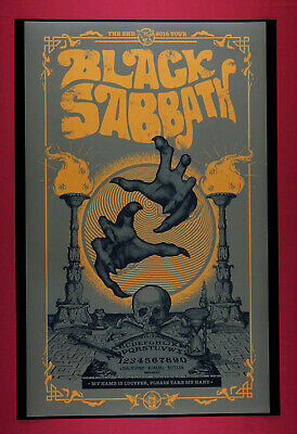 Black Sabbath The End 2016 Lucyfer Ozzie Music Concert Poster 24X36 New  BS16