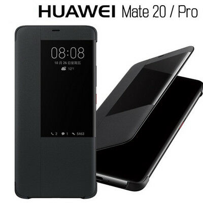 Luxury Leather Smart Case For HUAWEI Mate 20 / 20 Pro 20X View Window Flip Cover
