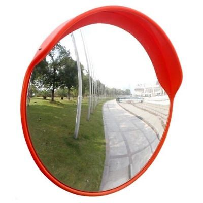 "24"" Wide Angle 230 Security Convex Mirror Outdoor Road Traffic Driveway Safety"