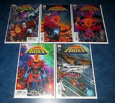 COSMIC GHOST RIDER #1 2 3 4 5 1st print complete set DONNY CATES THANOS PUNISHER