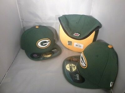 GREEN BAY PACKERS 2016 Sideline Fitted New Era 5950 Cap NFL Official ... b860324fb