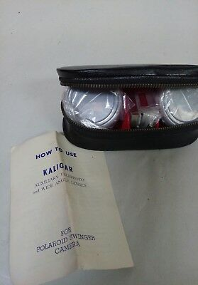 Vintage Kaligar Auxiliary Telephoto And Wide Angle Lenses