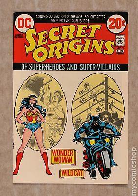 Secret Origins (1st Series) #3 1973 VF 8.0