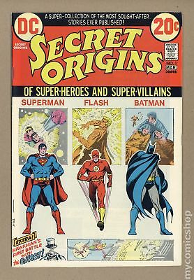 Secret Origins (1st Series) #1 1973 VF 8.0