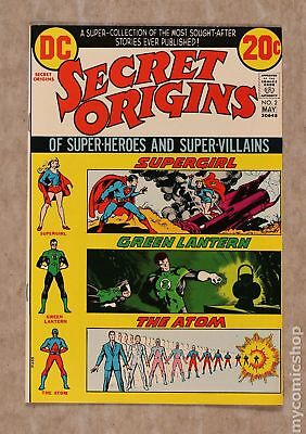 Secret Origins (1st Series) #2 1973 VF- 7.5