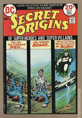 Secret Origins (1st Series) #5 1973 VF 8.0