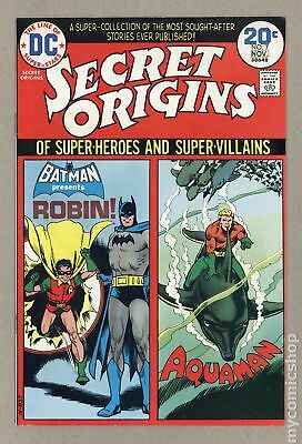 Secret Origins (1st Series) #7 1974 VF 8.0