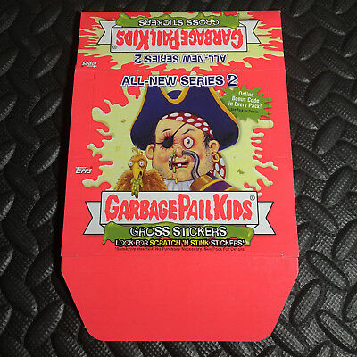 Garbage Pail Kids All-New Series 2 Ans2 2004 Empty Box