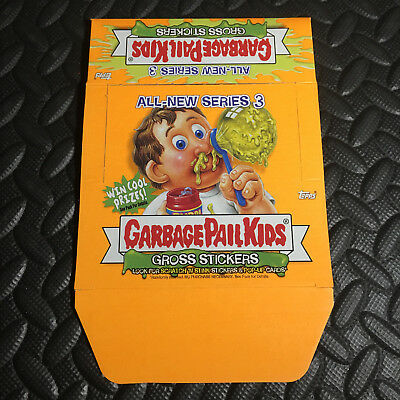 Garbage Pail Kids All-New Series 3 Ans3 2004 Empty Box