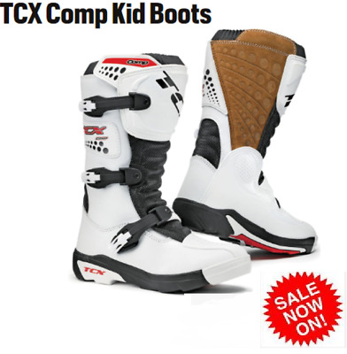 TCX COMP Kids boots NEW! rrp $219 TOP QUALITY!! Youth Motocross dirt bike boots