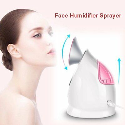 Facial Steamer Nano Ionic Face Humidifier Facial Care Moisturizing Cleansing RW