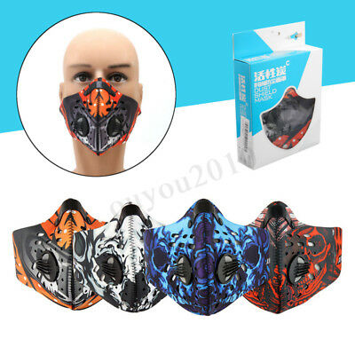 Half Face Mask Mouth Anti Dust Pollution Filter Sport Cycling Bicycle