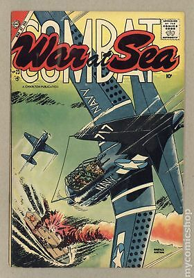 War at Sea #23 1957 VG 4.0