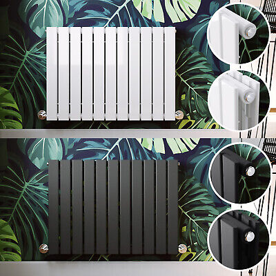 Modern Designer Radiator Horizontal Flat Panel Column Central Heating UK Rads